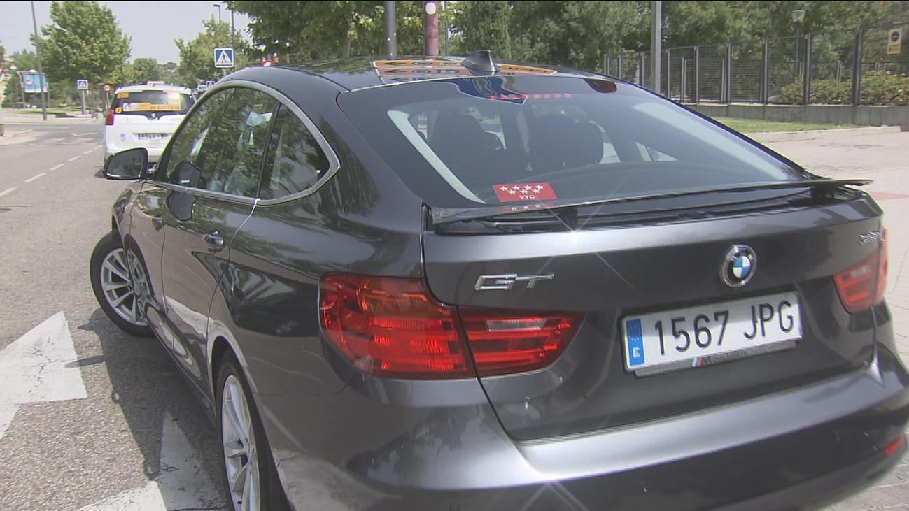 En Madrid ya hay un vehículo  VTC por cada dos taxis