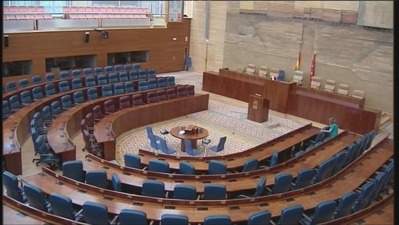 Negociación contrarreloj en la Asamblea de Madrid