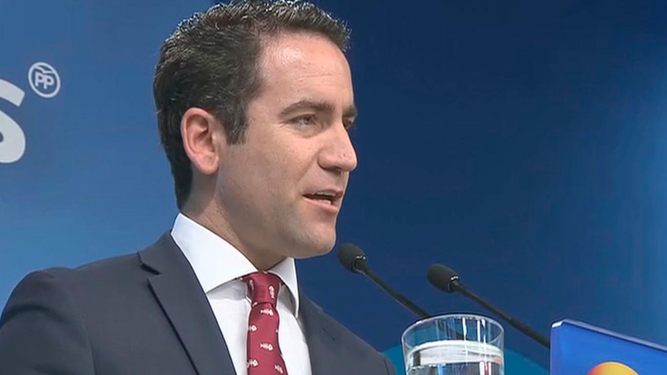 El PP confirma que votará en contra a la investidura de Sánchez