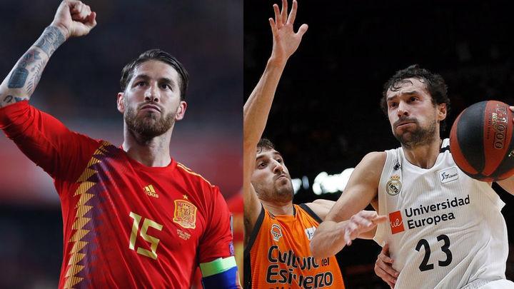 España gana a Suecia (3-0) y el Real Madrid al Valencia (78-85)