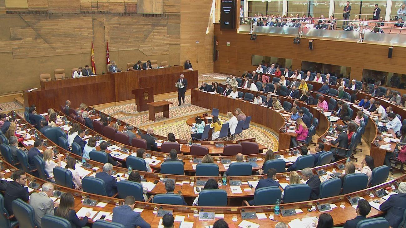 Vox se hace con la tercera Vicepresidencia de la Asamblea de Madrid