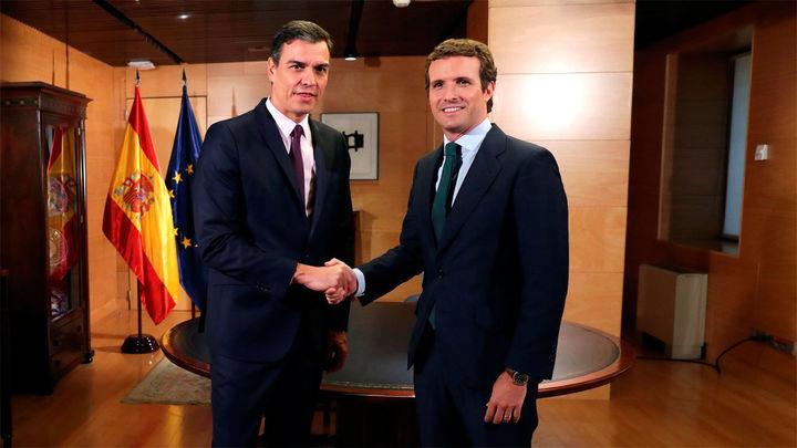 Sánchez y Casado posponen su reunión a la próxima semana