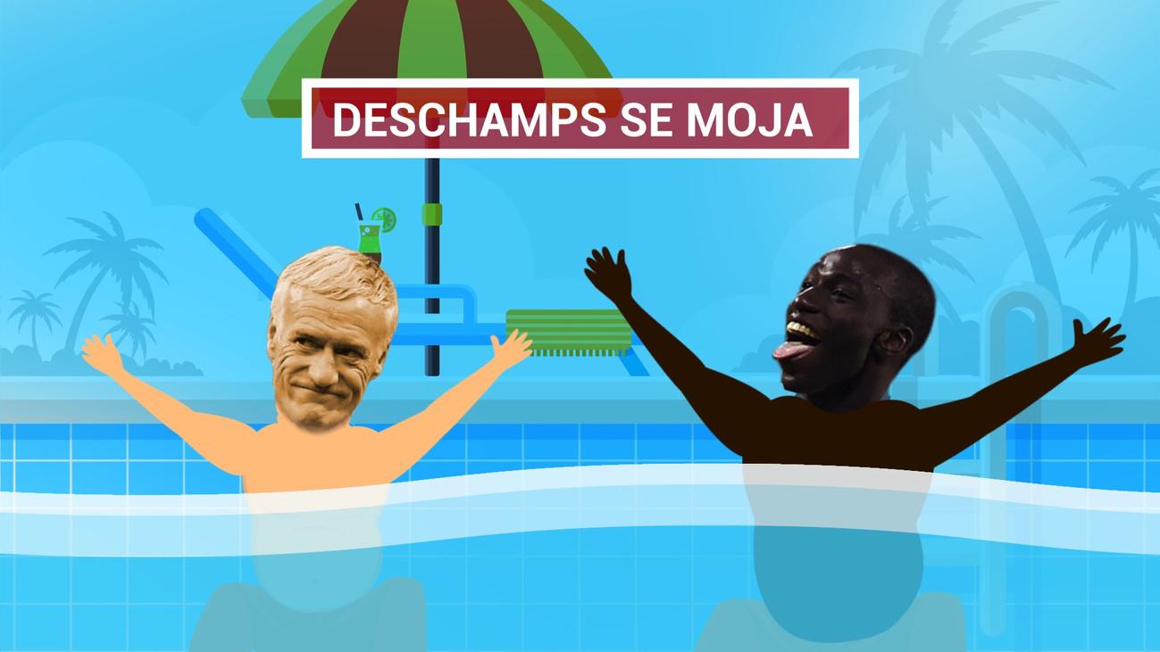 "Deschamps da por hecho que ""Mendy irá al Real Madrid"""