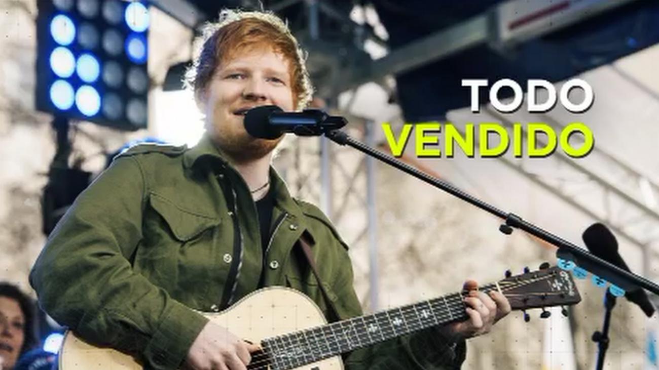 Agotadas las entradas para ver a Ed Sheeran en el Wanda Metropolitano