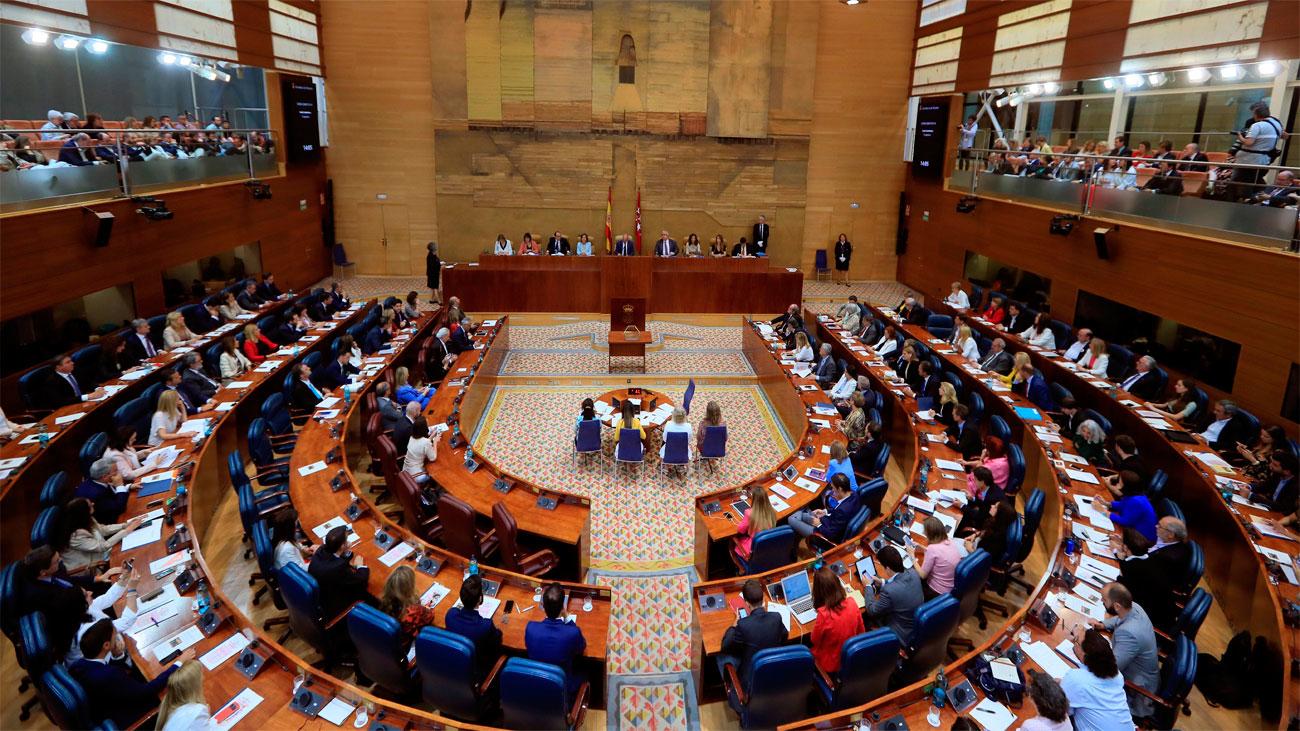 La Asamblea de Madrid más paritaria que nunca