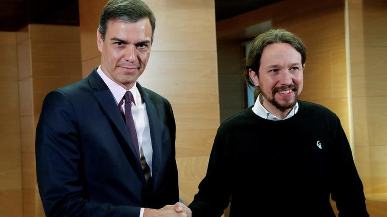 """Sánchez e Iglesias negociarán un """"gobierno de cooperación"""""""