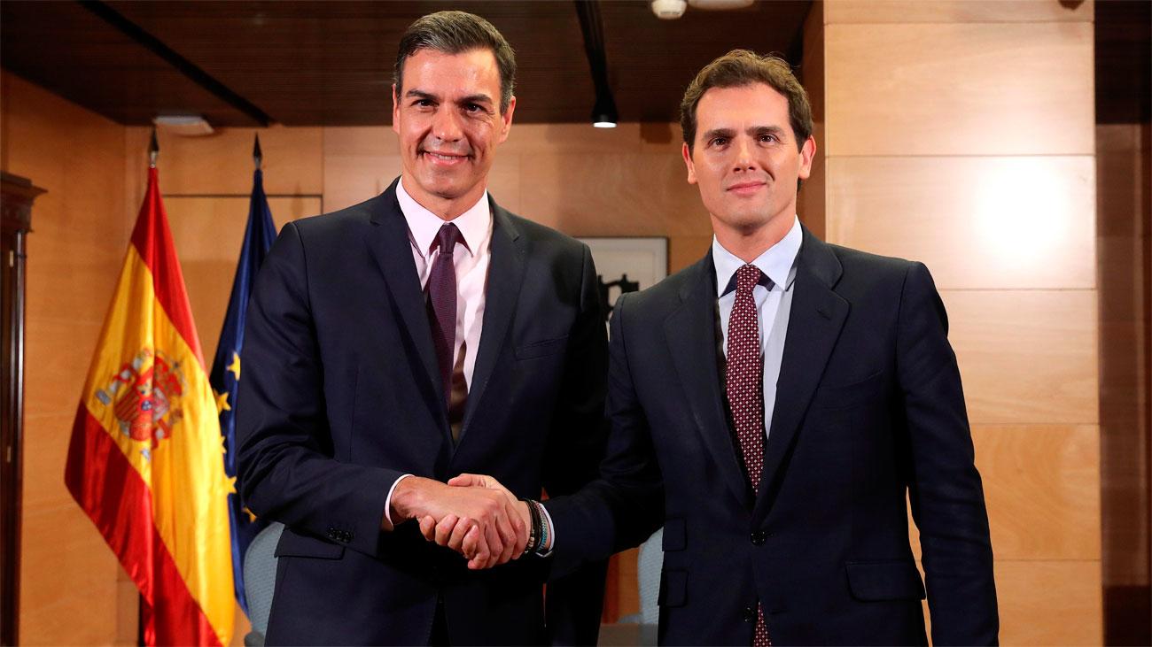 Rivera y Casado no facilitarán la investidura a Pedro Sánchez