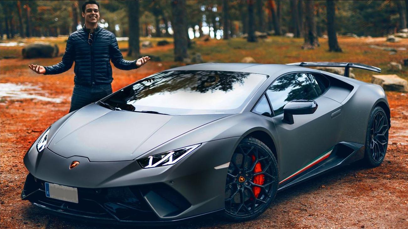 El detenido por ir a 228 km/hora en un deportivo podría ser  el youtuber David Díaz