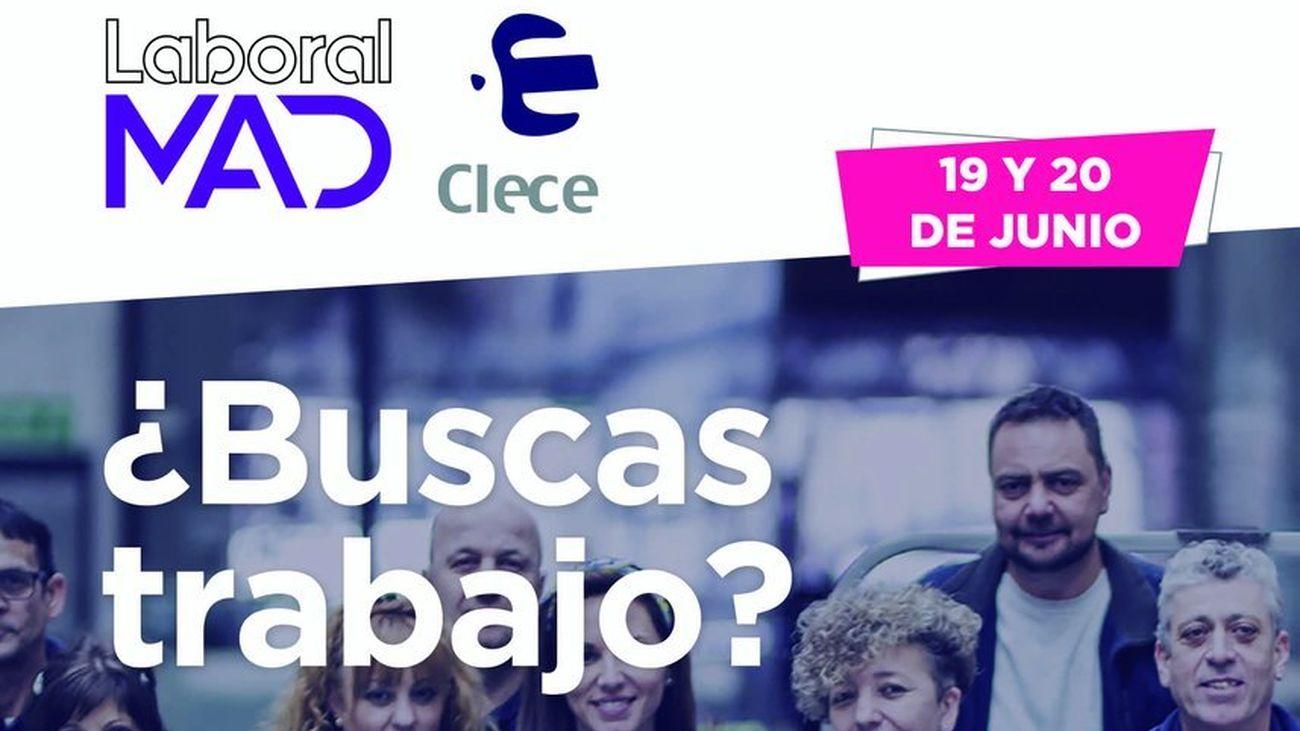 Clece ofrecerá 1.000 puestos de trabajo en Madrid los próximos 19 y 20 de junio