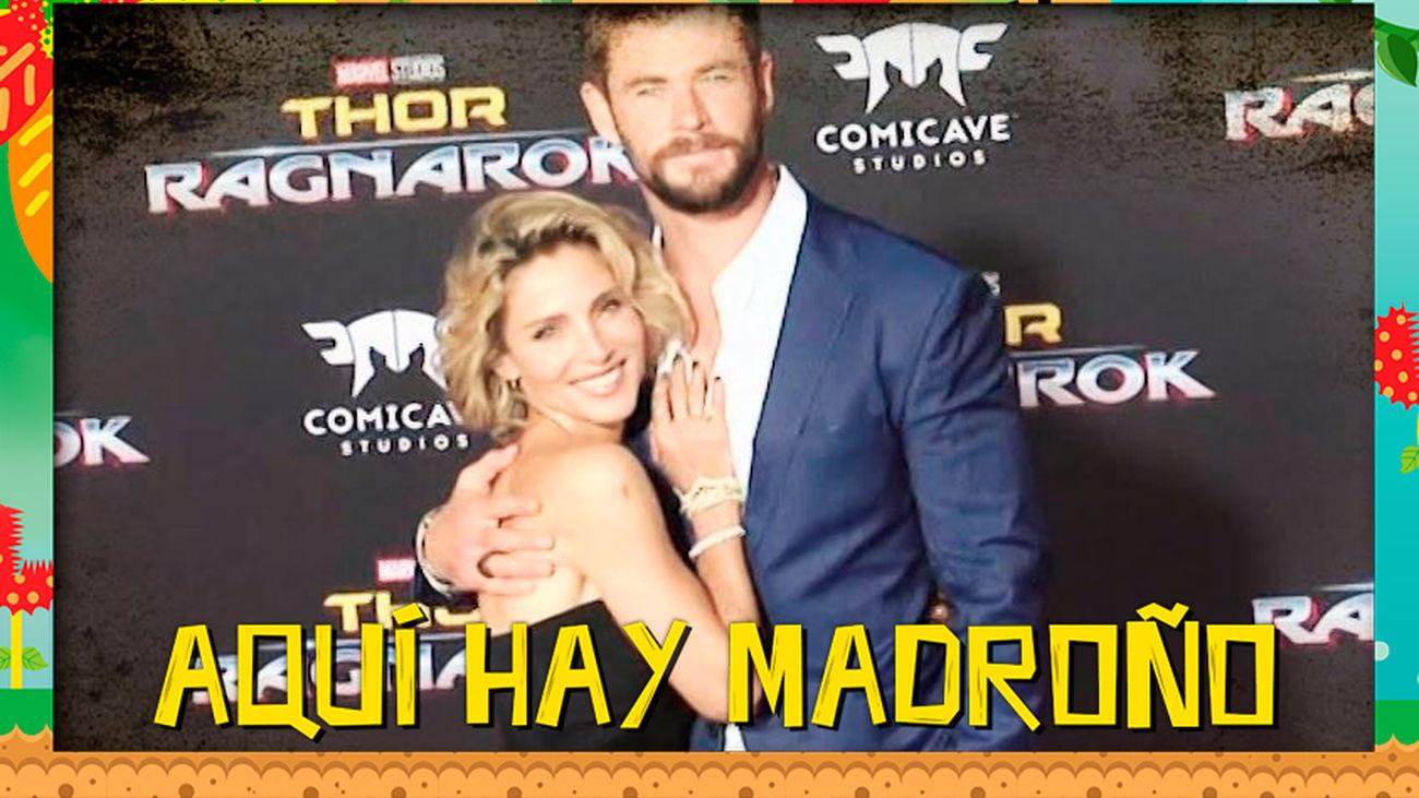 ¡Se acabó! Elsa Pataky le pide a Chris Hemsworth que no enseñe su 'Thor'so desnudo