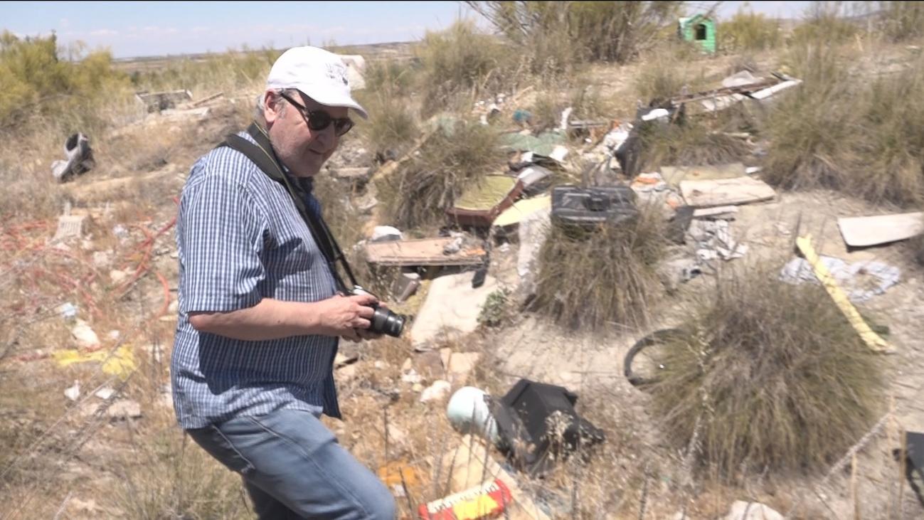 Entre vertederos ilegales en Aranjuez