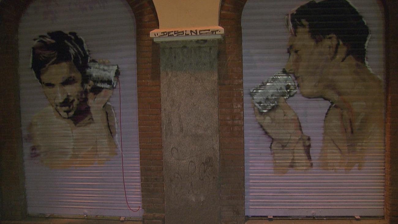 Grafiteros destrozan las pinturas de 'Pinta Malasaña'