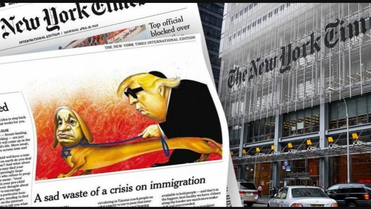 'The New York Times' dejará de publicar viñetas políticas en su edición internacional