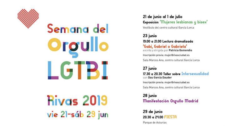 Arranca la semana del Orgullo LTGBI de Rivas