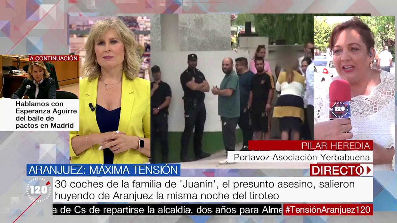 """Pilar Heredia, sobre las amenazas a 'Juanín': """"Nadie va a tomar la justicia por su mano"""""""