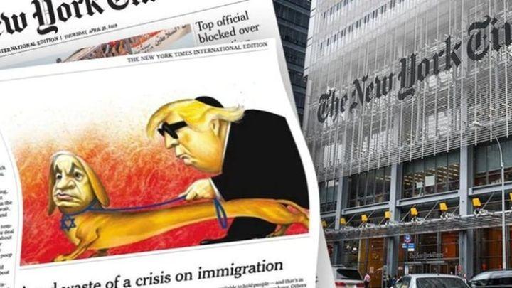 Desaparecen las viñetas satíricas en The New York Times
