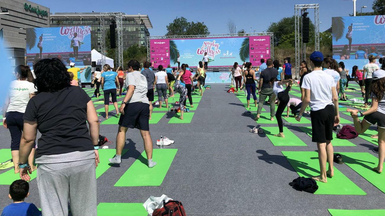 'Sunday Wellness Sunday', clases al aire libre para poner en forma el cuerpo y la mente