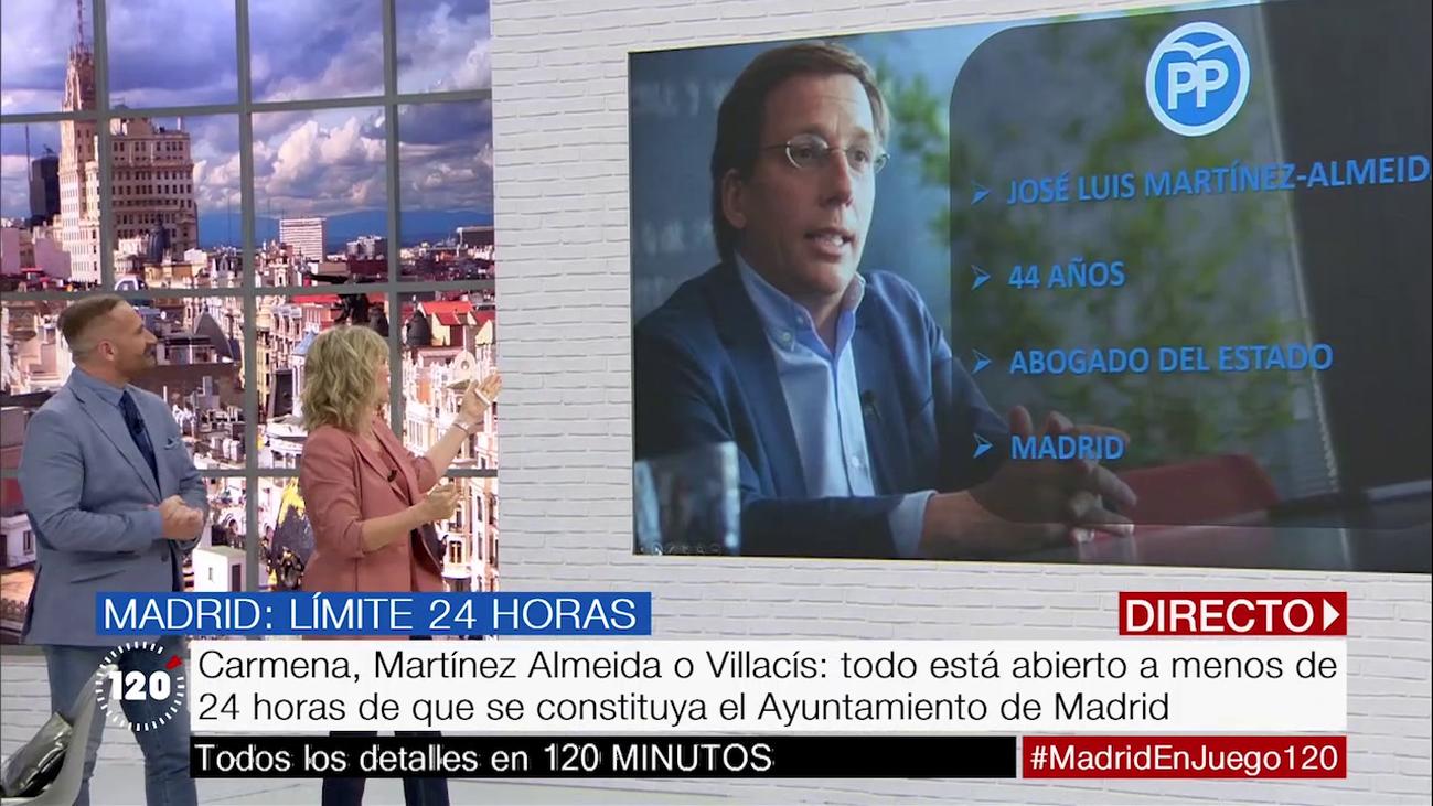 Martínez-Almeida, Villacís o Carmena, ¿quién llegará a la Alcaldía de Madrid?