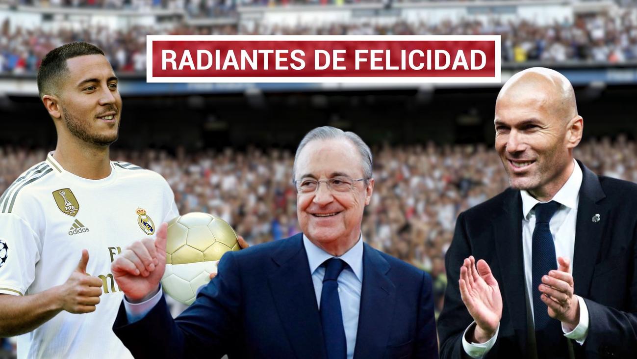 Hazard, en el Real Madrid; el nacimiento de un rey