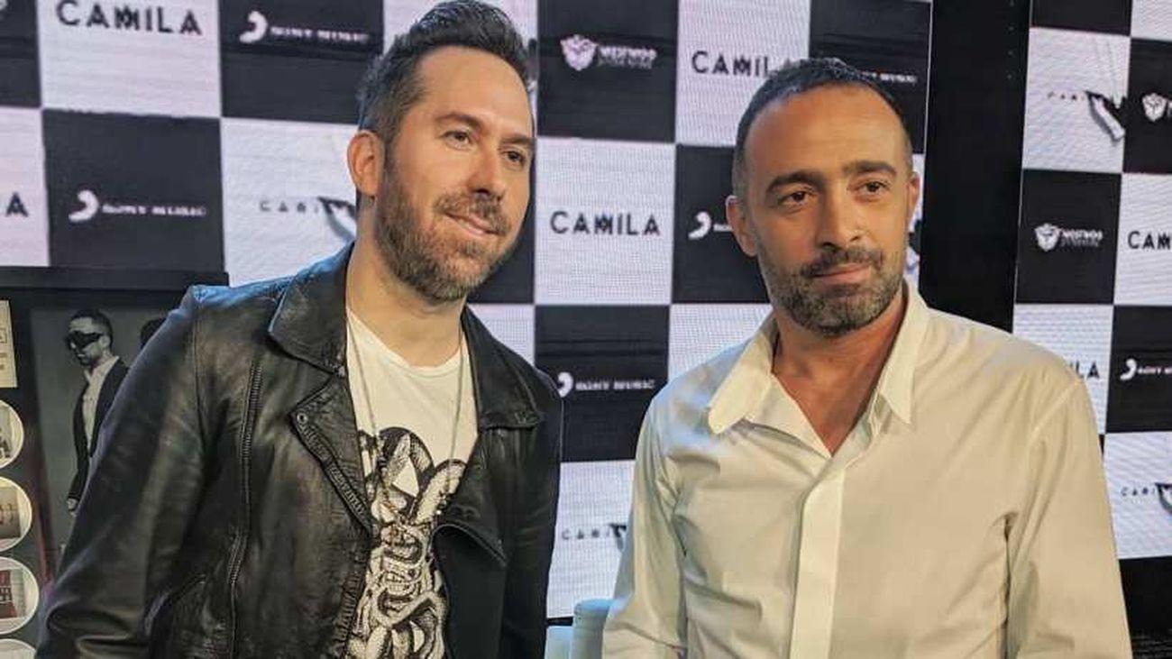 """Camila (Mario Domm y Pablo Hurtado) Nos presentan su último disco """"Hacia Adentro"""""""