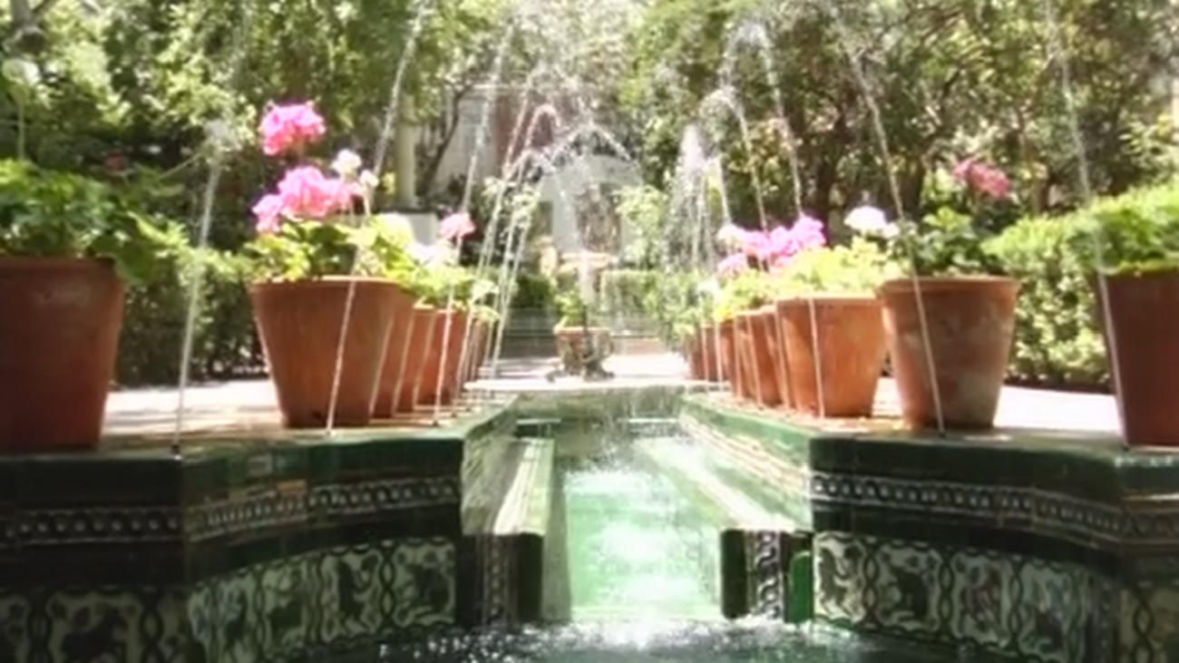Visitamos uno de los patios andaluces más bonitos de Madrid