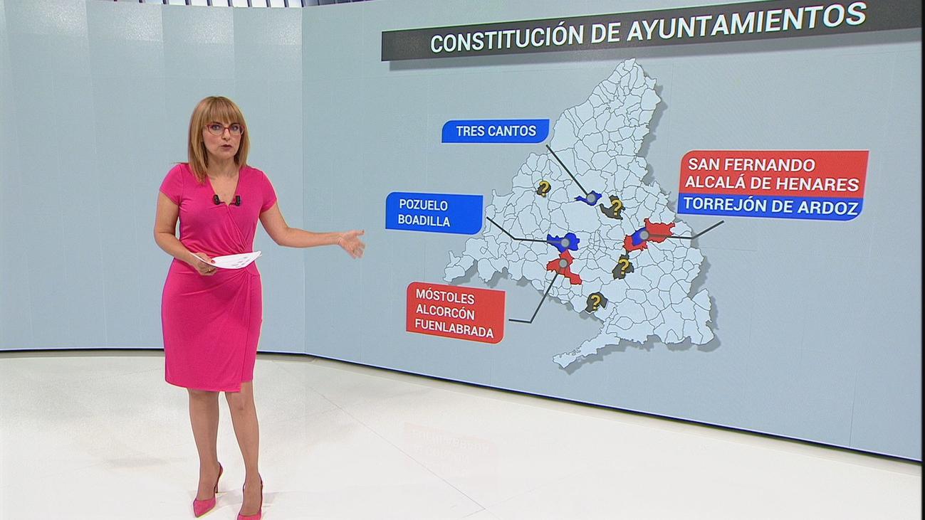 Parla, Collado Villalba y Rivas sin pactos a 24 horas de la elección de alcaldes