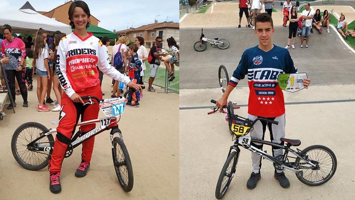 Hablamos con Larissa Cabral y Sergio Díaz, campeones de BMX
