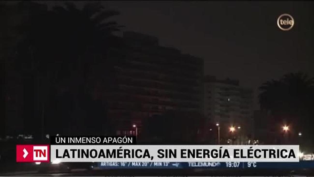Argentina y Uruguay sin energía eléctrica