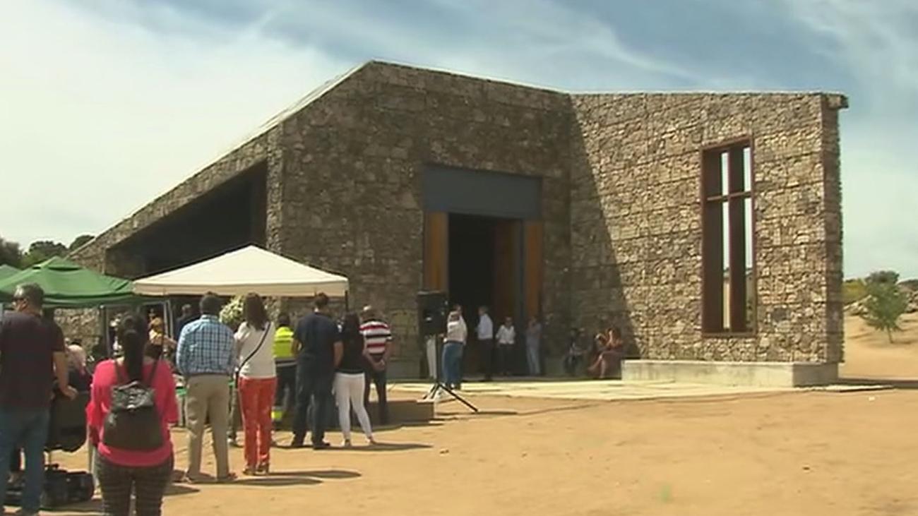 Navas del Rey inaugura la ermita de San Antonio