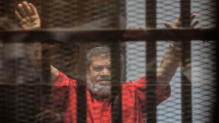 El expresidente egipcio Mursi fallece  en el juicio