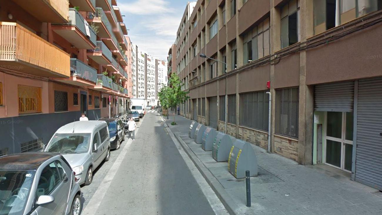 Calle en Mataró