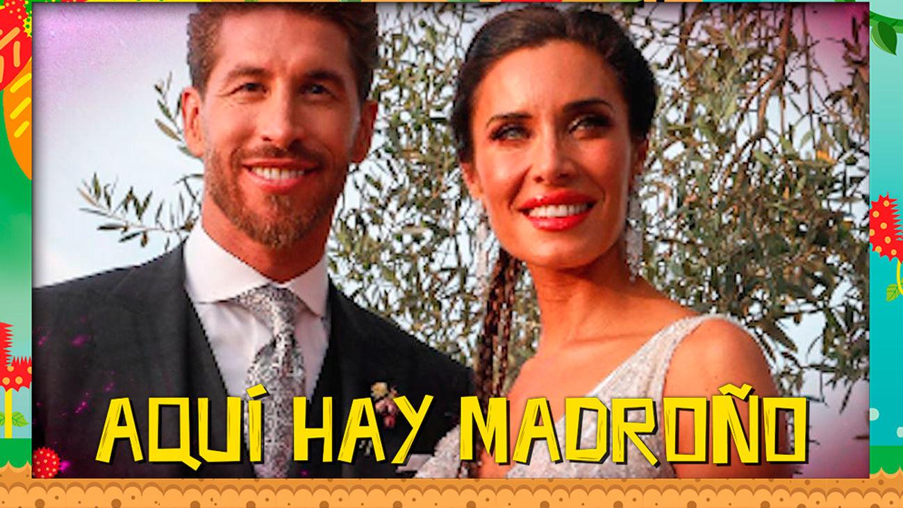 Los vecinos de Pilar Rubio se pronuncian sobre los estilismos de la boda