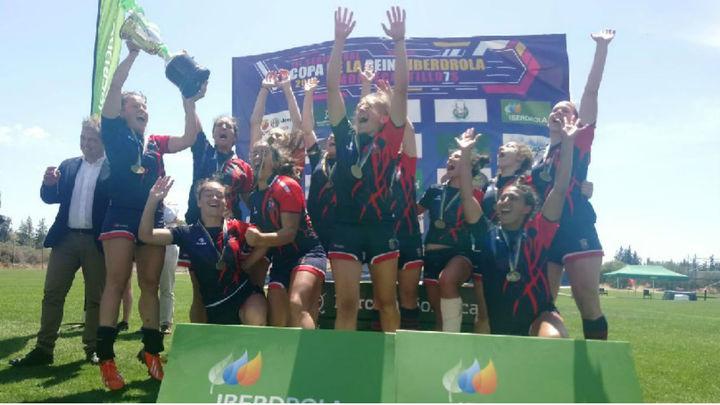 Majadahonda levanta su tercera Copa de la Reina de rugby