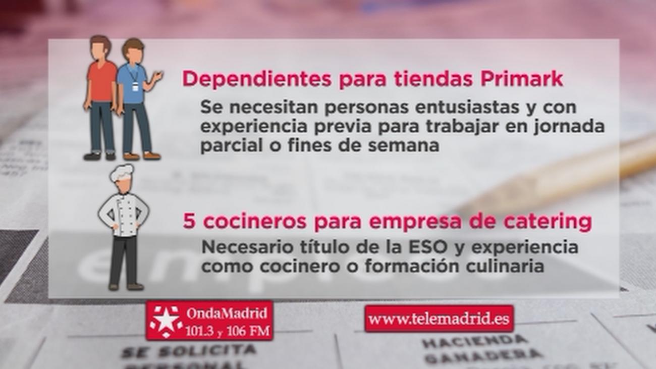 Primark busca dependientes para trabajar en Arroyomolinos, Carabanchel y Torrejón de Ardoz