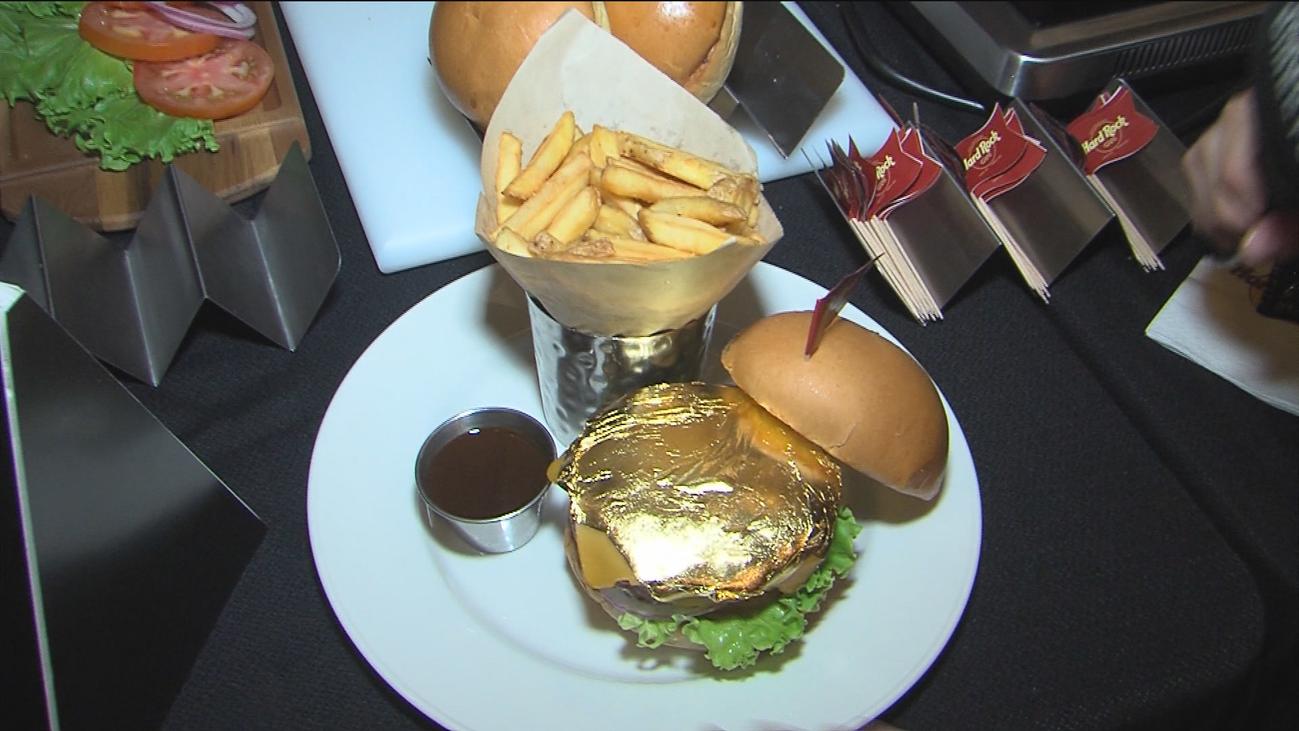 Llegan a Madrid las hamburguesas de oro