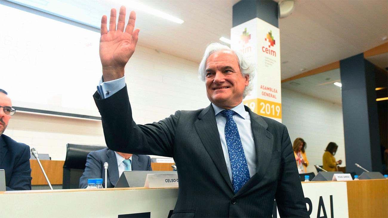Miguel Garrido, elegido presidente de CEIM hasta 2023