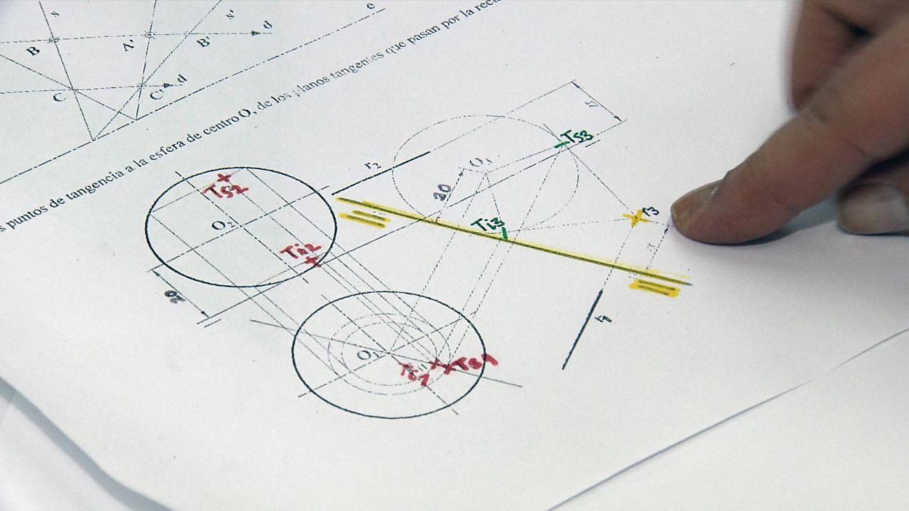 Polémica contra la prueba de Dibujo Técnico de selectividad por no ajustarse al temario