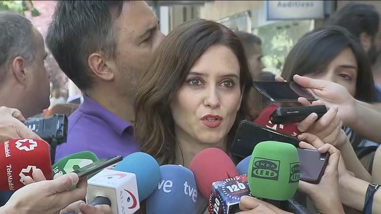 Reproches de Ciudadanos a Vox en Madrid mientras el PP llama a la calma