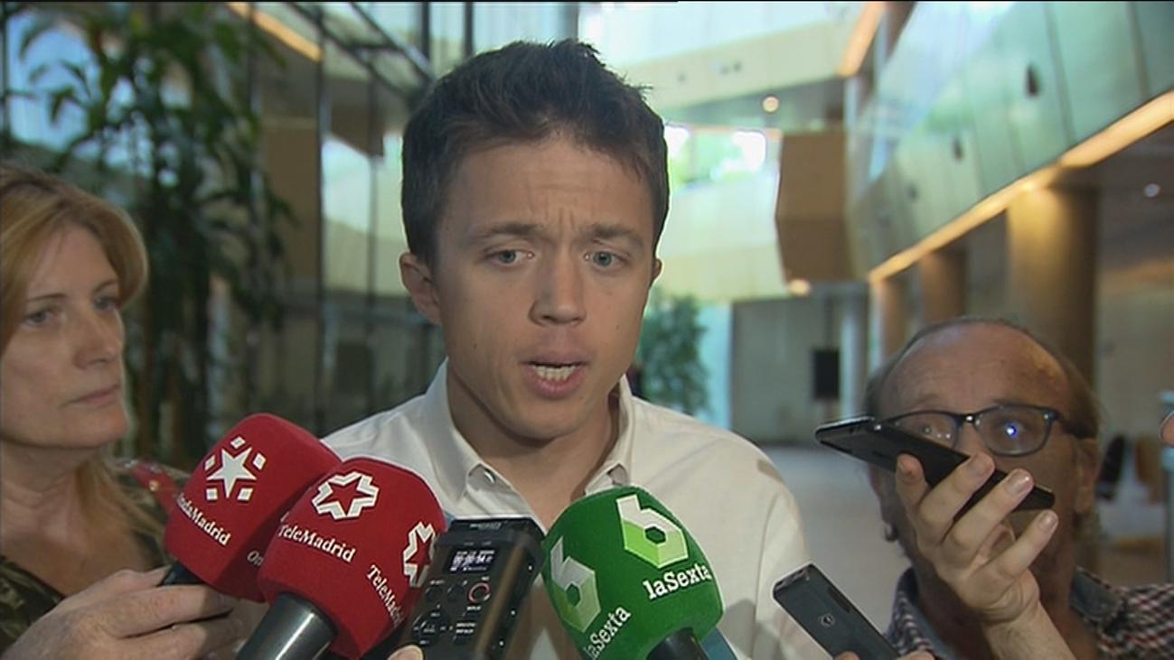 Errejón insiste en plantear a Cs un pacto alternativo a PP y Vox