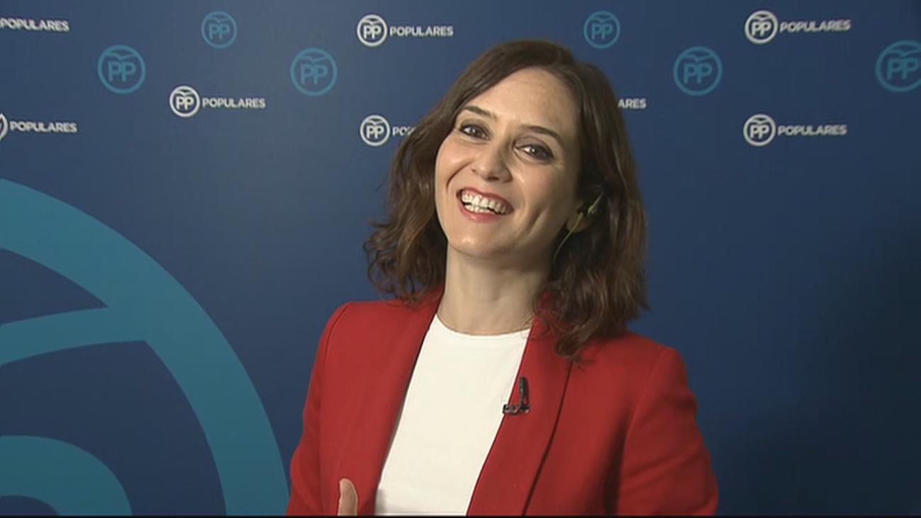 El PP presentará a Díaz Ayuso como presidenta de la Comunidad con acuerdo o sin acuerdo
