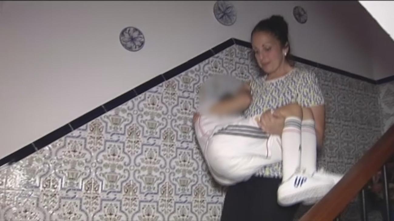 Manuel, el niño con espina bífida que no puede salir a la calle