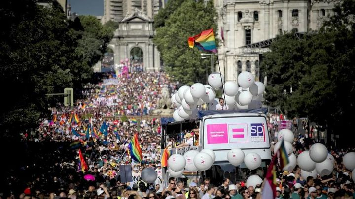 ¿Cuál es el recorrido del desfile del Orgullo LGBTI Madrid 2019?