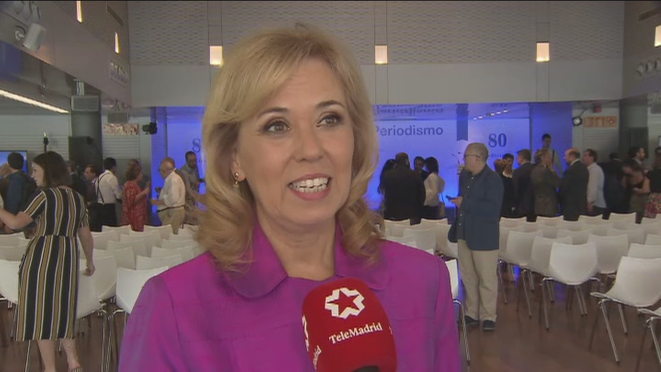 María José Escalera, periodista de Telemadrid, premiada por la APM