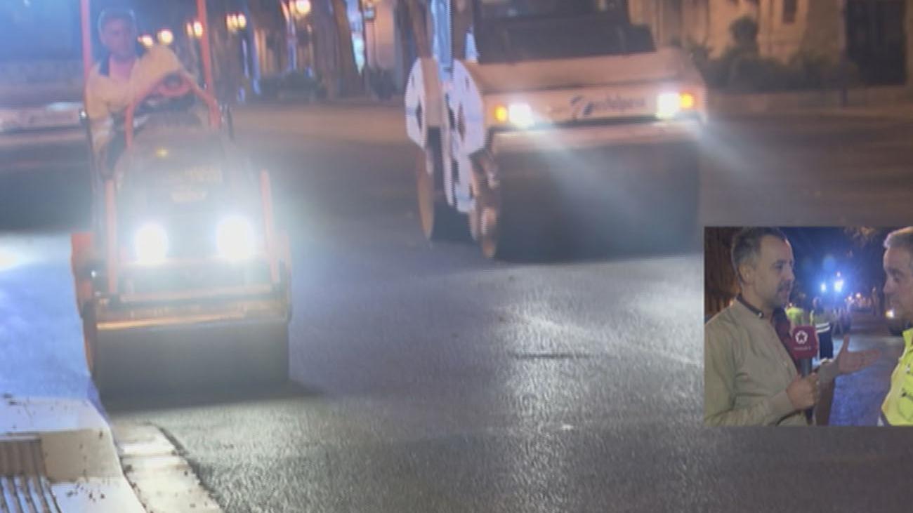 Empieza en Madrid la operación asfalto del verano
