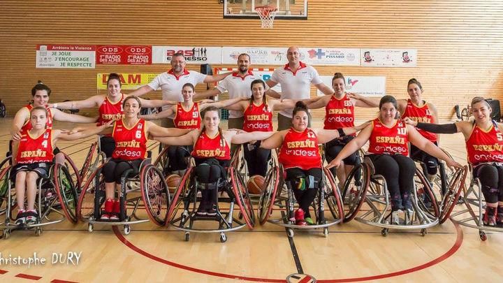 Abraham Carrión, desea que llegue el europeo de baloncesto en silla de ruedas