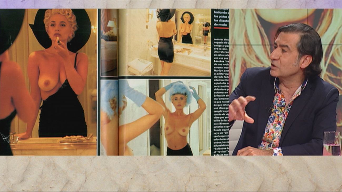 La reina del pop se desnuda en Interviú