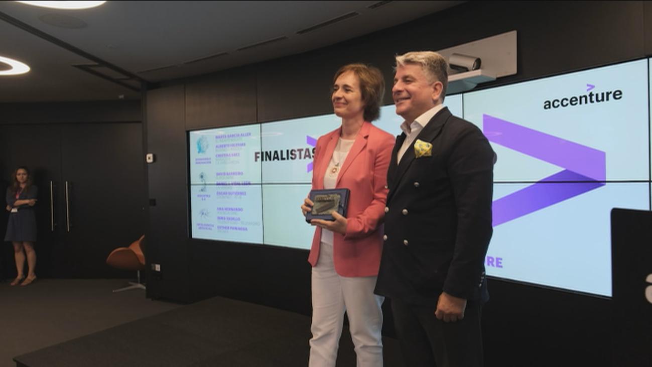 Inmaculada López Vadillo, periodista de Telemadrid, finalista en los premios Accenture