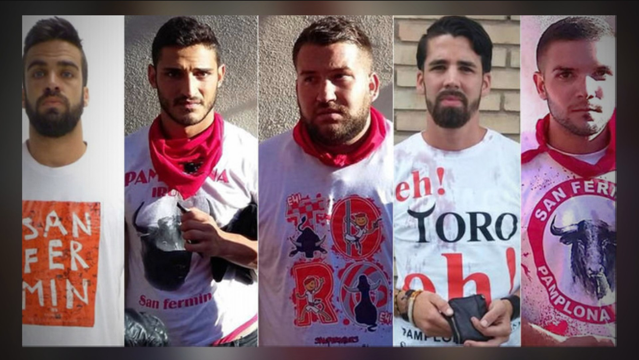 """Trasladados a prisión los 5 miembros de  """"La Manada"""""""