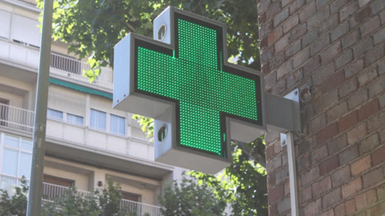 Cruz de una farmacia