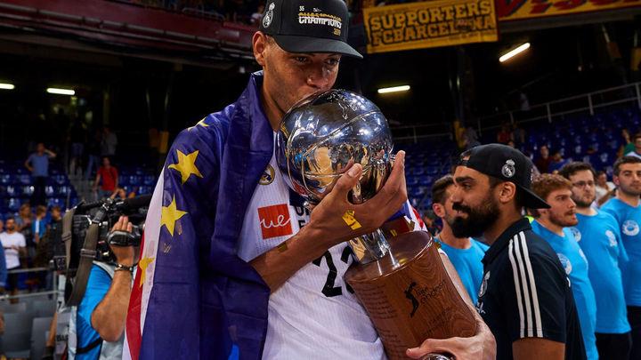 La alegría del campeón de la Liga ACB
